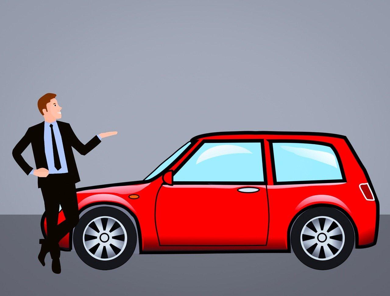 sprzedaż starego samochodu