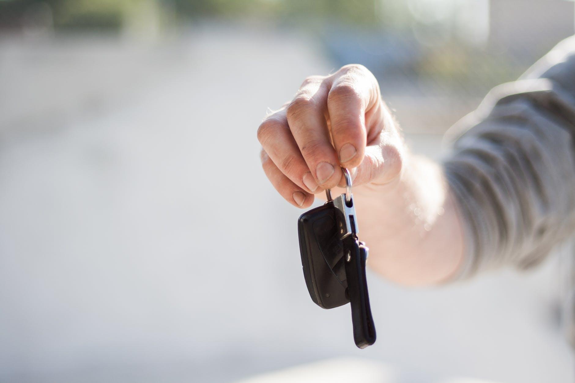 Sprzedaż samochodu firmowego