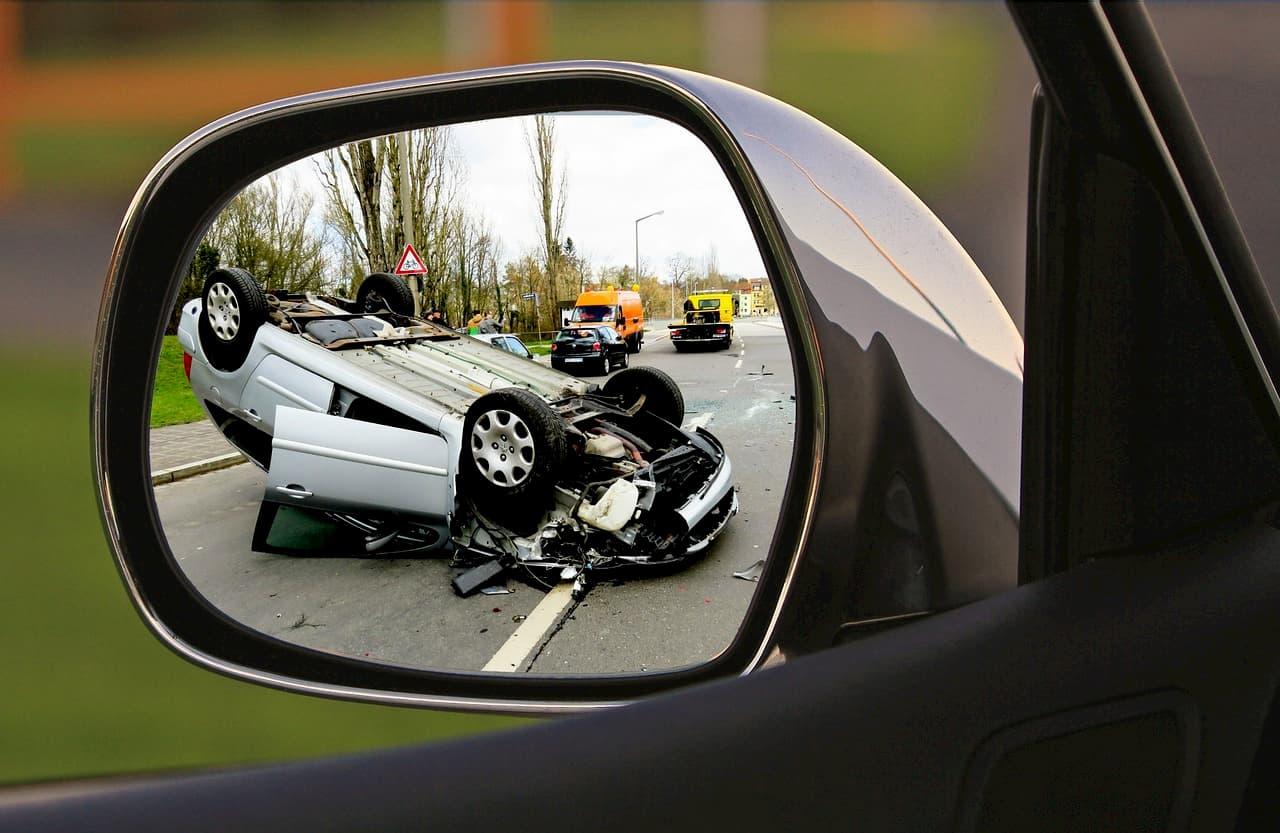 Kolizja i wypadek drogowy