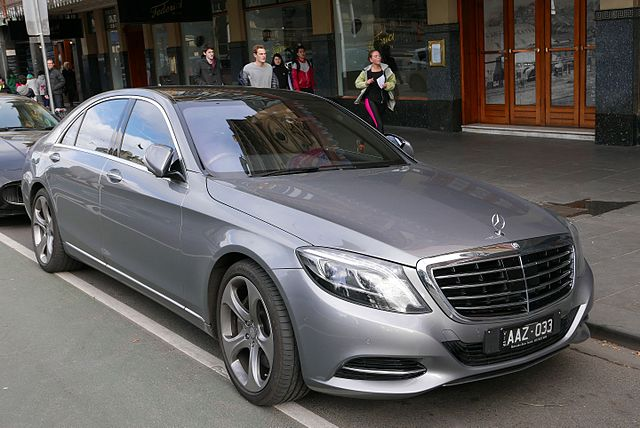 Mercedes s 500 l autoumowa